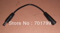 100pcs/lot DC cable,15cm long, male to female for led strip,power supply,etc