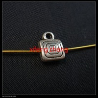 200 pcs/lot alloy jewelry bails tibet silver Free shipping