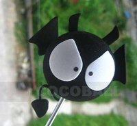 Hot Sale eva foam aerial antenna ball topper Q black devil