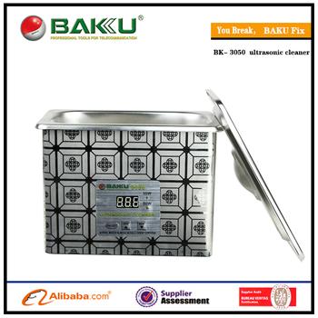 BAKU wholesale prices for 110v or 220v stainless steel digital ultrasonic cleaner BK-3050