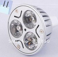 Free shipping 3w mr16 led bulb 3w led spot light spotlight 12v