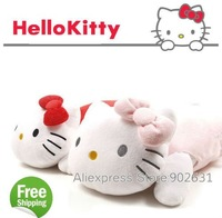 For Promotion/Accept Credit Card 10pcs New Novelty Stuffed Plush Toy Hello Kitty Cartoon Pillow for Kids