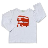 Kids' long sleeve T shirt, round neck, assorted printed T shirt, Free Shipping !!