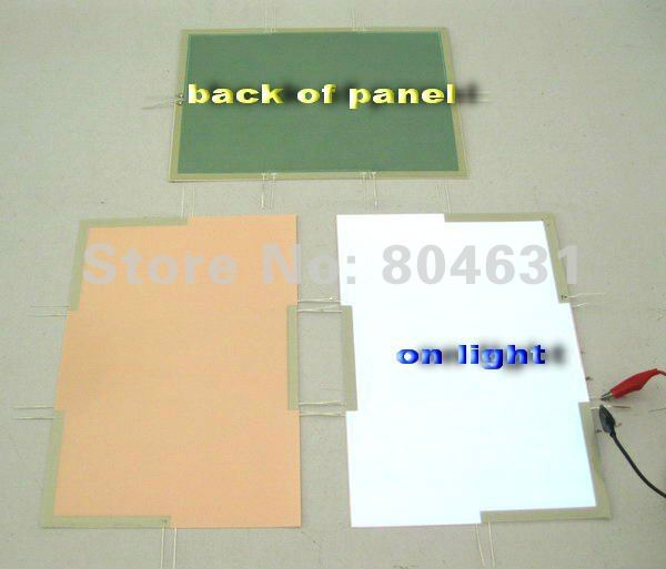 EL Panel Sheet Pad Back Light Display Backlight/ cut any design as your require(China (Mainland))