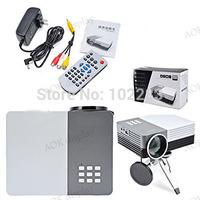 Freeshipping!  with HDMI Mini Micro AV LED Digital Video Game Projectors Multimedia player Inputs AV VGA USB SD