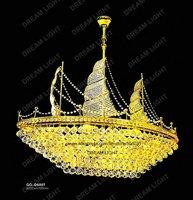 crystal ship chandelier/ K9 Crystal chandelier/ DIA650*H700mm/ ship light/ free shipping