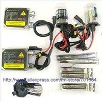 New Car 35W 12V HID Xenon Conversion Kit 2 Ballasts Bulbs H4 H4-1 6000K Wholesale & Retail [C54]