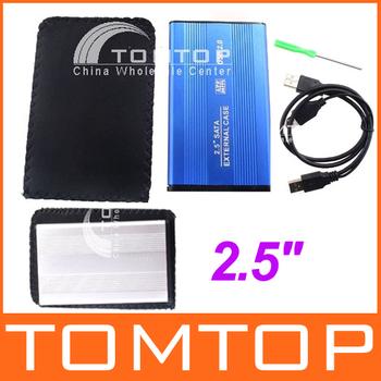 """USB 2.0 2.5"""" SATA HARD DRIVE DISK HDD CASE Enclosure"""