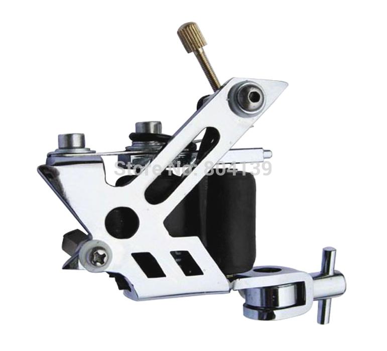 FRETE GRÁTIS - Pack ( 5) máquina de tatuagem novo design em aço pássaro 10 bobinas equipamentos fornecedor(China (Mainland))