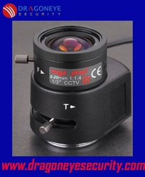 8-20mm Varifocal Auto Iris IR Mega Pixel CCD Lens, good vision at night, CS Mount, Perfect for Box Cameras, Security cameras(China (Mainland))