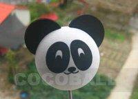 Hot Sale Wholesale eva  pencil aerial antenna ball topper panda