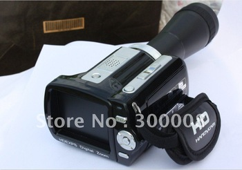 Factory Hot sales-12.0MP digital camcorder  with 2.4inch screen,  8X digital zoom and MP3 play, voice recording
