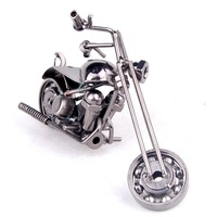 logo printing Novelty free shipping metal crafts classic motorcycle models M39