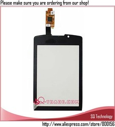 20pcs/lot Touch Screen for Blackberry Torch 9800 Digitizer black colour free shipping(China (Mainland))