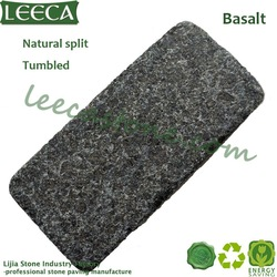 Flamed natural basalt stone kerb patio paver(China (Mainland))