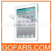 For new iPad 3 Clear Screen Protector with Retail Package,50pcs/Lot,High Quality