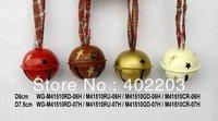 CHRISTMAS ORNAMENT-CHRISTMAS BELL-12pcs/lot, big size-send by randomly& free shipment