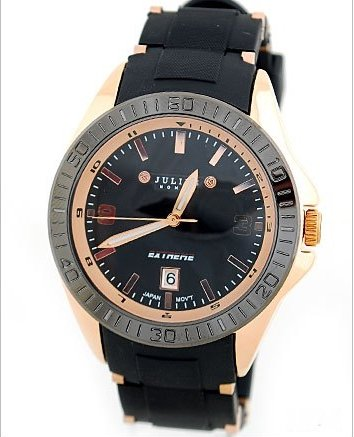 Free Shipping Julius Men's Wrist Watch Quartz Round Fashion Sport, JAH-002, Authentic, High Quality(China (Mainland))