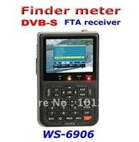 Hot sell SATLINK WS6906 satellite signal finder meter free shipping