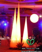 Inflatable Party Decoration lighting cone,Including LED lights, fans, transformers