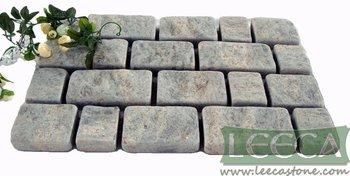 Natural granite stone blocks river rock