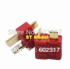 100 pairs Connector Golden grip slip T plug Anti-skid For RC ESC Battery supernova sale