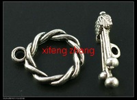 Wholesale 80 pcs/lot alloy jewelry toggle clasps Free shipping t049