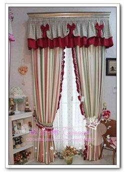 Curtain of Mediterranean Style- Victorian Series