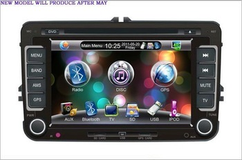 HD Indash 7 VW CAR DVD GPS Navigation PLAYER PIP SD USB FREESHIPPING