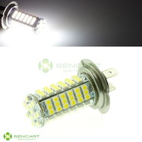 100% brand new high quality SUPER WHITE 102-SMD H7 LED bulbs Fog lamps   Taillights    Free Shipping