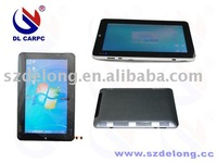 """capacitive multi touch screen 10"""" tablet PC win7 ,N455 CPU, DDR3,WIFI/3G,2M camera"""