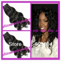 Top Grade AAAAA Wave Curl 100% Brazilian virgin hair wefts