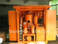 Double Stage Vacuum Transformer Oil Purifier, Transformer Oil Treatment with Roots Vacuum Pump