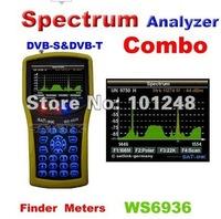 2012 DVB-Satellite & Terrestrial DVB-T Combo Meter SIGNAL FINDER WS6936/ ws 6936 spectrum analzyer satellite meter finder meter