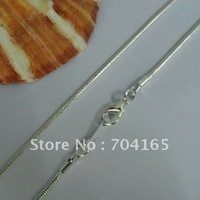 Free shipping wholesale and hot retail silver  plated snake necklace &chains  SN10062   400x1.5mm 60pcs/lot