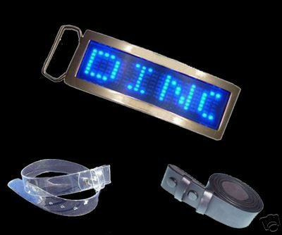 Free Shipping Fashionable Blue/ Red Color Digital Programmable LED