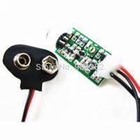 Wholesale+freeshipping Mini FM transmitter,mini bug wiretap dictagraph interceptor 60MHZ-128MHZ 9V 100hours