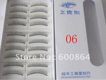 50pairs 06# Fashion Eyelashes eyelash extension False Eyelashes Fake Eyelashes artificial eyelash Hand made Eye lash