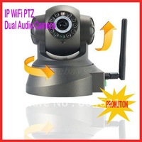 Promotion Nightvision IR Webcam Web CCTV Camera WiFi Wireless IP Camera, freeshipping,dropshipping