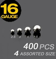 16g stainless steel ball mixed 4 size loose part of body jewelry 400pcs/lot