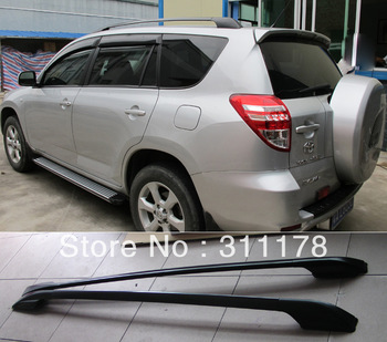 Free Shipping 2 pcs Aluminum Alloy Roof Rack for RAV4
