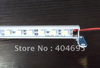 Free shipping+ 10pcs 5050SMD Hard light bar / aluminum LED light bar  showcase hard light bar led rigid strip 30leds/50cm