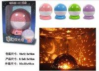 Free shipping+20pcs/lot Rotary Dream Star Night Light / Star Rotating Light / Star Night Light!!