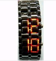 Free shipping+ 10PCS The latest 2010 Korea / cool LED bracelet watch / creative fashion LED electronic watches
