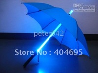 Free shipping+10pcs/lot LED light umbrella / Legend of the luminous umbrella