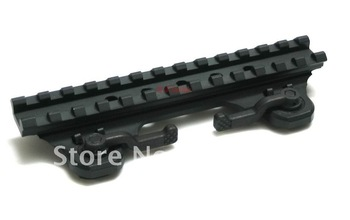 Long Quick Detachable Riser Picatinny Rail QD Mount Quick Release Base