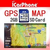 iGO GPS map software with 2G SD memory card for car DVD GPS Navigation