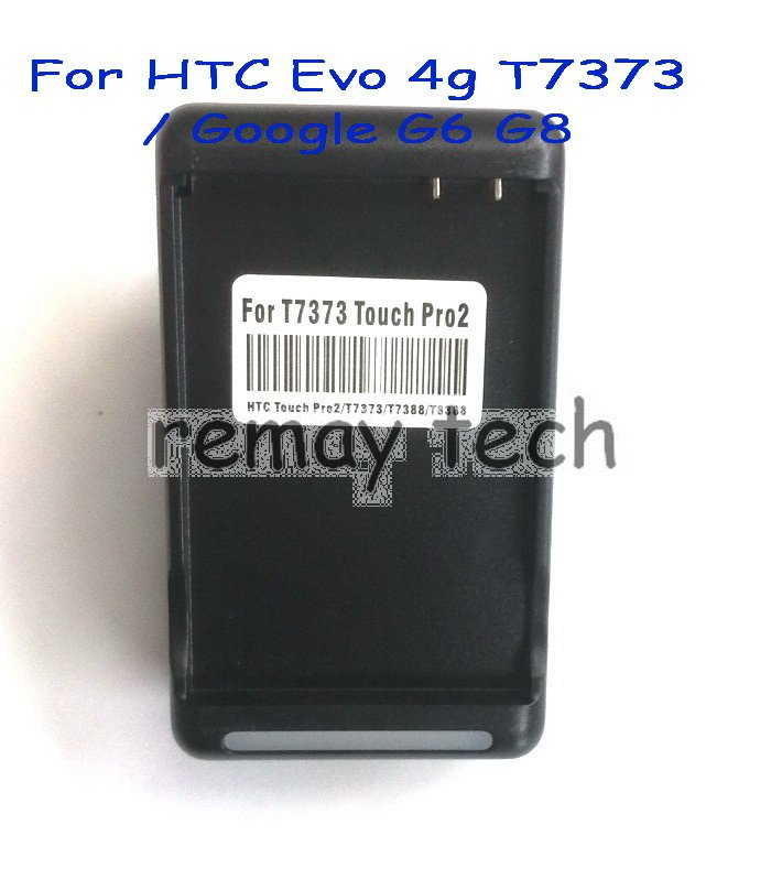 30pcs, Battery home AC WALL dock charger for Sprint HTC Evo 4G, Touch Pro2, T7373(Hong Kong)