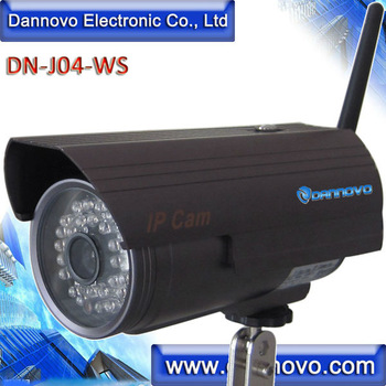 DANNOVO Wireless WiFi Internet Waterproof Outdoor IP Camera IR night Vision,Low Cost Support iPhone,iPad,Smart Phone