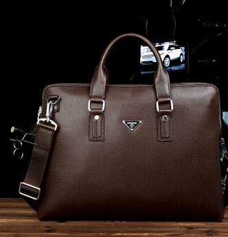 9860 new business bag,,one shoulder bag,PU men's bag ,men's leisure brief case, FREE SHIPPING